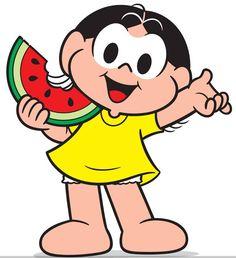 Magali, 50 anos: dez lugares que fariam a alegria da comilona Watermelon Cartoon, Watermelon Art, 90s Cartoons, Lol Dolls, Holidays And Events, Cartoon Characters, Tigger, Party Themes, Mickey Mouse