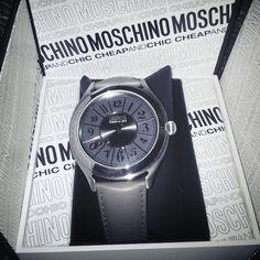 Photo by azraileezahriz #moschino #mymoschino #watch #cheapandchic