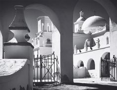 Arches, North Court by Ansel Adams