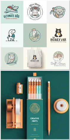 Logos are images, texts, shapes, or a combination of the three that depict the name and purpose of a. Logo Design Trends, Web Design, Packaging Design, Branding Design, Graphics Game, Stationeries, Paper Crafts Origami, Animal Logo, Graphic Design Typography
