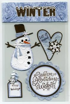 Winter Card Candy by cr8zyscrapper - Cards and Paper Crafts at Splitcoaststampers