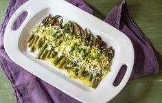 Asparagus Gribiche: #SundaySupper | The Wimpy Vegetarian