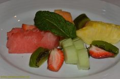 Fresh fruit available at every meal. Carnival Conquest