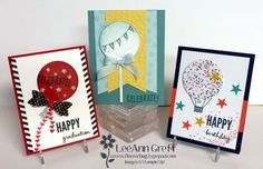 Celebrate Today Balloons 5 Card Kit to Go from Flowerbug's Inkspot
