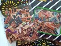 Mini House cartoon houses sticker beautiful by StickersKingdom