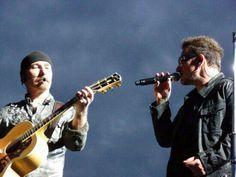 U2 ~ The Edge and Bono, 360 Tour