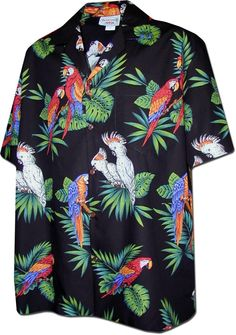 Shop a great selection of Pacific Legend Parrots Hawaiian Shirt. Find new offer and Similar products for Pacific Legend Parrots Hawaiian Shirt. Christmas Hawaiian Shirts, Mens Hawaiian Shirts, Hawaiian Wear, Hawaiian Print, Embroidered Polo Shirts, Bowling Shirts, Aloha Shirt, Shirt Outfit, Casual Button Down Shirts