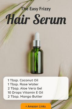 Pelo Natural, Natural Hair Care, Natural Hair Styles, Natural Beauty, Anti Frizz Hair, Anti Frizz Serum, Homemade Hair Serum, How To Make Hair, Hair Health