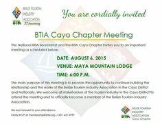 Cayo BTIA Summer Meeting
