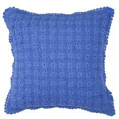 レフィナ クッションカバー ブルー(ブルー) Francfranc(フランフラン)公式サイト 家具、インテリア雑貨、通販
