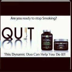 Quit smoking? Healthy lifestyle. It works. Sarah Thomas It Works Global Distributor  http://sarahthomas87.myitworks.com sserg7@umsl.edu 630-715-5703