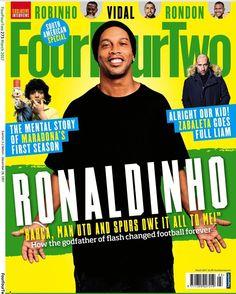 Galera, leiam a última edição da revista FourFourTwo! Tem uma matéria muito legal comigo e com vários outros atletas!! #soccer #football #fourfourtwo
