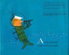 Space Alphabet: A  by Irene Zacks, illustrations by Peter P. Plasencia by wardomatic, via Flickr