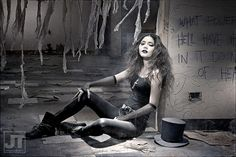 Easy costume, awesome makeup! I love this Death cosplay from Sandman. - 10 Death (Sandman) Cosplays