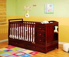 Daphne Athena Convertible Crib Finish Cherry Maternity Madam