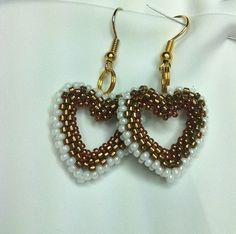 Wedding bead jewelry Valentine's day gift Bead by Mammybluebeads
