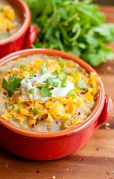 Crockpot Mexican Baked Potato Soup | Community Post: 21 Crockpot Soups Guaranteed To Help You Brave The Cold