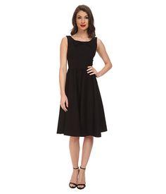 Stop Staring! Little Swing Dress Black - 6pm.com