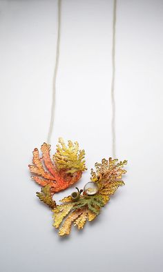 JI EUN CHOI, FOREST SERIES | COPPER, SILVER 925, GLASS, SILVER PLATING, PAINTING, THREAD
