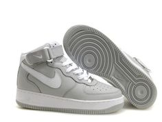 online store 0e569 7edec Now Buy Nike Air Force 1 High Mens Grey White Hot Save Up From Outlet Store  at Footlocker.