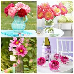 5 Arreglos florales para regalar o decorar la mesa el Día de la Madre