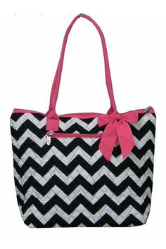 Quilted tote or diaper bag by LaLaBoutiqueBling on Etsy, $26.99