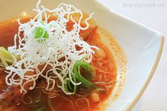 Sopa De Ostiones, oysters and tomato soup with herbs and spices