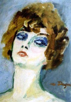 Kees van Dongen - Portrait d'une Blonde