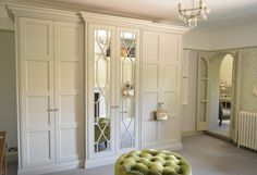 Get the right wardrobes for your home with our Bespoke Mirrored Wardrobes in London. We produce high quality, Fitted Wardrobes in Cheshire & London Fitted Wardrobe Design, Built In Wardrobe, Garderobe Design, Big Bathrooms, Master Bathroom, Master Closet, White Bathroom, Beautiful Bathrooms, Empire Design