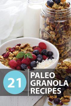 paleo granola recipes