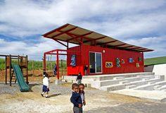 Escola em Container