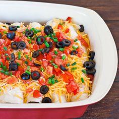 Breakfast Nacho Burritos. Subst. beans for beef, corn for flour tortillas, vegan melty cheese for cheese....GF, vegan!