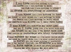 Live it this way!