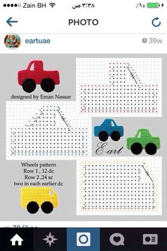 50 Aplicaciones en crochet para bebés (Patrones) 50 Crochet applications for babies (Patterns) The post 50 Crochet applications for babies (Patterns) appeared first on Pink Unicorn. Marque-pages Au Crochet, Appliques Au Crochet, Crochet Applique Patterns Free, Crochet Car, Crochet Motifs, Crochet Bebe, Crochet For Boys, Baby Knitting Patterns, Amigurumi Patterns