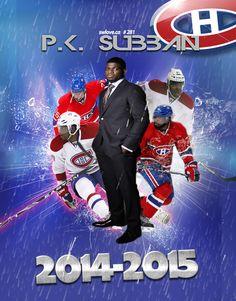 #76 P.K. Subban Montreal Canadiens, Hockey Players, Ice Hockey, Nhl, Captain America, Bedroom Ideas, Empire, Superhero, Sports