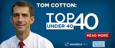 Tom Cotton, Top 40 Under 40