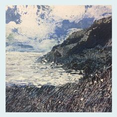 Excited to share the latest addition to my #etsy shop: Rachel Sargent, Fine art cards, Pack of 4 blank greeting cards, Artists cards, Dorset artist, landscape cards, sea and coast. Artist Card, One Fine Day, Square Card, Art Cards, Printmaking, Paths, Coast, Greeting Cards, Etsy Shop
