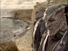 41) Rocks and Shoals (Star Trek: Deep Space Nine) - Sisko's crew are stranded on a planet with some of the enemy Jem'Hadar... and the Jem'Hadar's unquestioning drug-induced loyalty is put to the test, horribly.