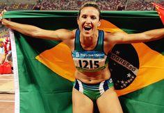 Maurren Maggi, atleta brasileira, olimpíadas, Brasil, Brazil, esporte, sport, atletismo