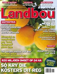Landbouweekblad January 15 2016 digital magazine - Read the digital edition by Magzter on your iPad, iPhone, Android, Tablet Devices, Windows 8, PC, Mac and the Web.
