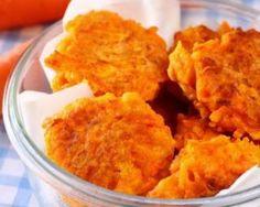 Galettes de carottes du soleil allégées : http://www.fourchette-et-bikini.fr/recettes/recettes-minceur/galettes-de-carottes-du-soleil-allegees.html