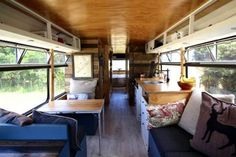 This Family Transformed An Old Bus Into A Luxurious, Mobile Tiny Home  | tentree