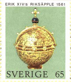 "Sweden 65ö ""Swedish Crown Regalia"" 1971"