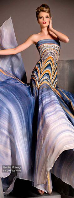 The Versatile Talents of Artisan Blanka Matragi » Blanka Matragi 30th Anniversary Couture Collection