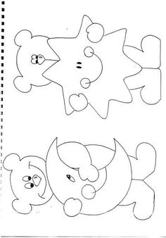 bears Appliques or Embroider onto quilt blocks … Applique Templates, Applique Patterns, Applique Quilts, Embroidery Applique, Machine Embroidery, Embroidery Designs, Felt Patterns, Craft Patterns, Stuffed Toys Patterns