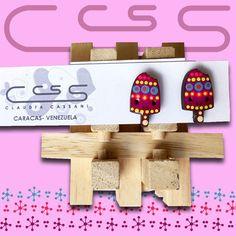 Nuevo diseño de paleta  Sólo en zarcillos!. Qué esperas para pedir los tuyos? #ClaudiaCassani   Pedidos vía web & whatsapp [ver perfil]