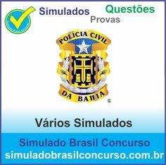 Concurso Polícia Civil da Bahia 2014.  Novos Simulados e Questões da Polícia Civil da Bahia 2014.  http://simuladobrasilconcurso.com.br/simulados/concursos/?filtro_concurso=1533  #SimuladoBrasilConcurso, #PoliciaCivilBa