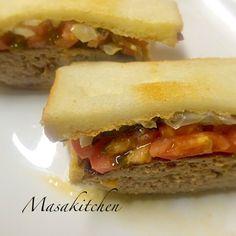 Burger sandwich.