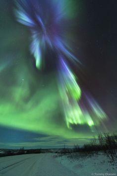Aurora over Karasjok by Tommy Eliassen, via 500px