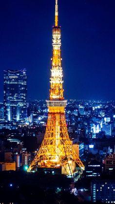 tokyo, japan, light, night